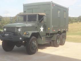 Caminhão Militar Exército Reo M109 6x6 1960 Placa Preta