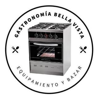 Cocina 4 Hornallas + Campana