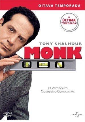 Box Original : Monk - 8ª Temporada - Lacrado - 4 Dvds