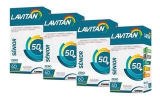 Polivitamínico Lavitan Sênior - 4x 60 Comprimidos - Cimed