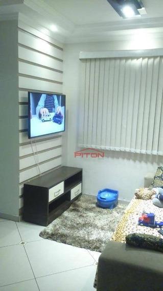 Apartamento Com 2 Dormitórios À Venda, 47 M² Por R$ 210.000,00 - Cangaíba - São Paulo/sp - Ap1924