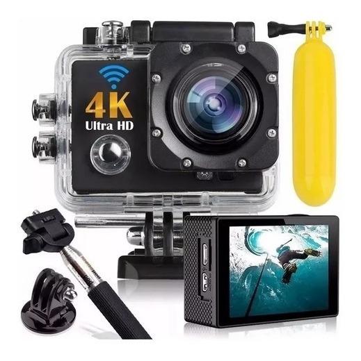 Ultra Câmera Action Go Cam Pro Sports 4k Wifi Prova Dagua