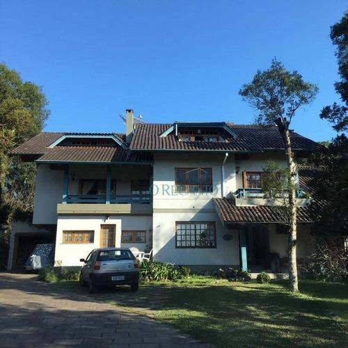 Casa Com 4 Dormitórios À Venda, 400 M² Por R$ 2.600.000,00 - Centro - Gramado/rs - Ca0770