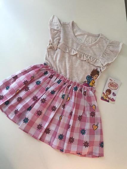 Vestido De Fancy Nancy Disney Talla 2 Importado!