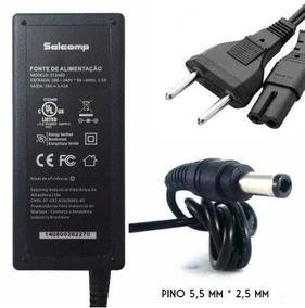 Carregador Notebook Fonte Salcomp 19v 3,42a S13a00