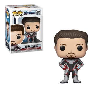 Muñeco Funko Pop 449 Avengers Endgame Iron Man Tony Stark