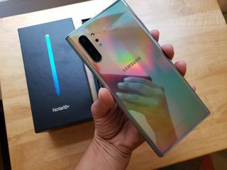 Nueva Samsung Galaxy Note 10 Plus Aura Glow (desbloqueado)