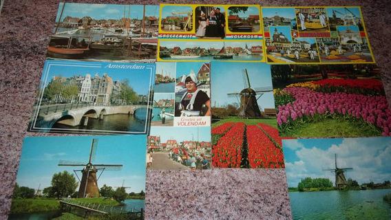 9 Hermosas Y Típicas Postales De Holanda.