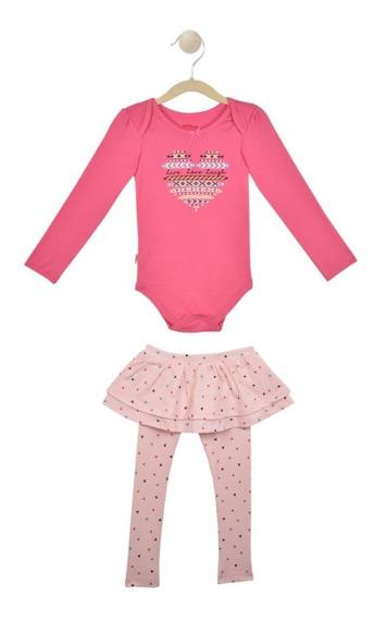 Set 2 Pzas, Pants Y Pañalero Baby Creysi Multicolor Uh1304