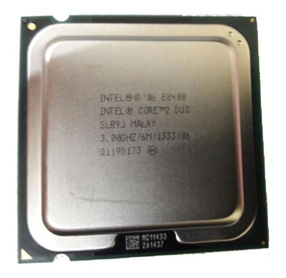 Processador Cpu E8400 - Temos E8500 E7500 Q6600 Xeon X5450 ¨