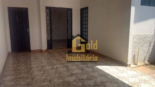 Casa Com 3 Dormitórios À Venda, 80 M² Por R$ 150.000,00 - Ipiranga - Ribeirão Preto/sp - Ca0982