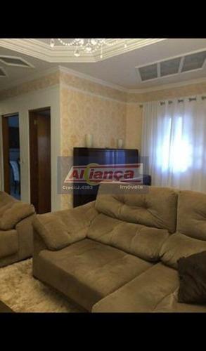 Sobrado Com 3 Dormitórios À Venda, 142 M² - Jardim Vila Galvão - Guarulhos/sp - Ai18780
