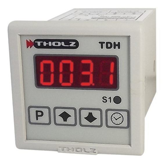 Temporizador Tdh Tholz - Tdh033n - 90~240vca - P008