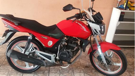 Moto Kasinski Vermelha 150cc - Ano 2011 - Impecável