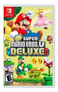 New Super Mario Bros U Deluxe Nintendo Switch Nuevo Y Sellad