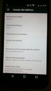 Moto G4 Semi Nuevo (pago En Efectivo)