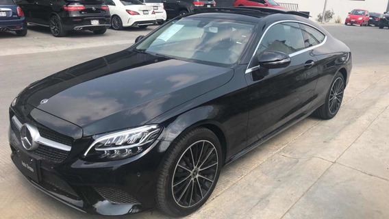 Mercedes-benz C 200 Coupe At 2020 Negro