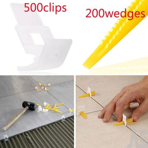 Clips De Azulejo Nivelación Sistema 500 700 + 200 Cuñas Sepa