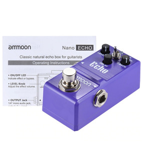 Nano Pedal Ammoon Echo Delay Analogico