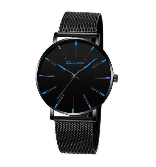 Relógio Masculino Casual Esportivo Luxo Cuena Promoção