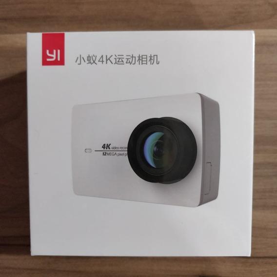 Câmera Xiaomi Yi 2 4k Nova Lacrada Frete Grátis