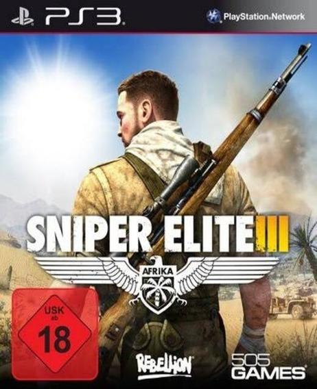 Sniper Elite 3 (ps3) Português Legendas Play3 Jogo Em Oferta