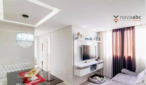 Imagem 1 de 17 de Apartamento Com 2 Dormitórios À Venda, 50 M² Por R$ 265.000,00 - Vila Homero Thon - Santo André/sp - Ap3164