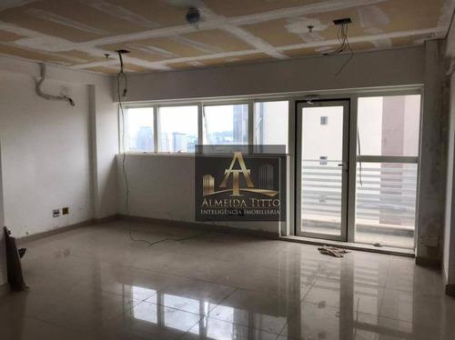 Excelente Sala Comercial Para Locação No Office Grajaú - Confira! - Sa0565
