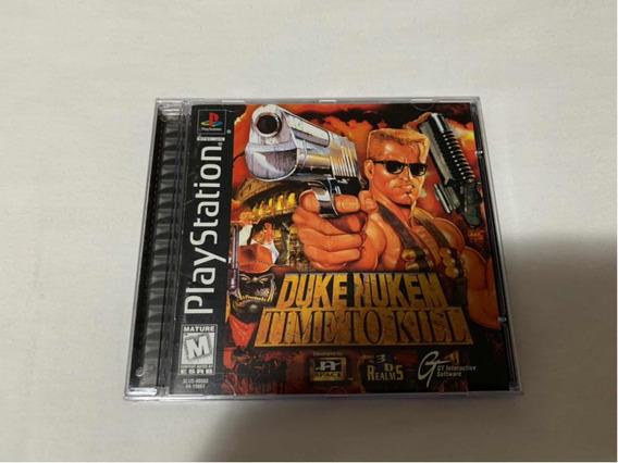 Duke Nukem Time To Kill Ps1 Original Americano Completo