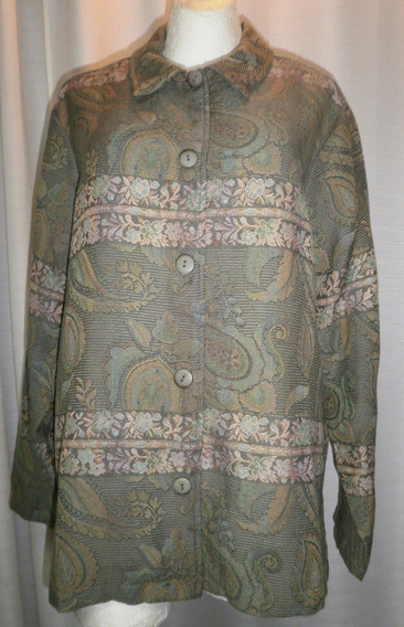Camisola T.40, Tonos Verdes, Brocada, Comoda, Coldwater Cree