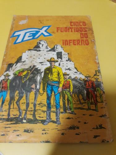 Tex 29  Primeira Ed. - Cinco Fugitivos Do Inferno (item 35)