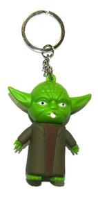 Chaveiro Mestre Yoda Com Luz E Som