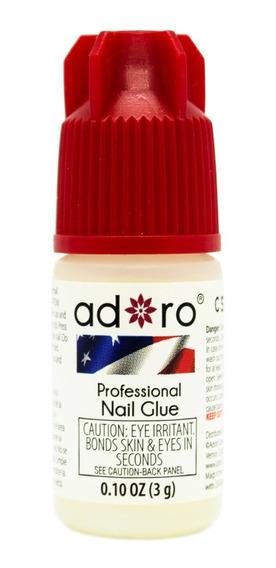Adoro Nail Glue Pegamento Para Uñas Tips Esculpidas X 3grs