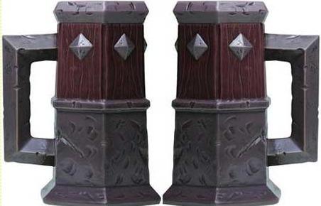 Caneco De Chopp Em Cerâmica World Of Warcraft Tankard O Terror Original Blizzard