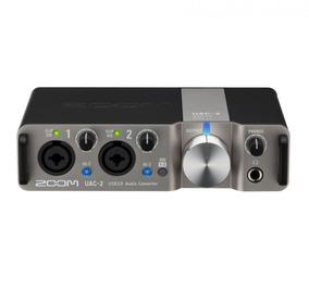 Conversor De Áudio Zoom Uac-2, Usb 3.0