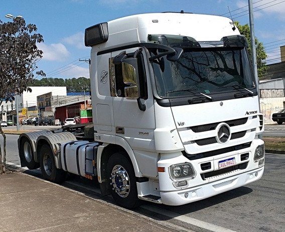 Mb Actros 2546 6x2 Nao Usa Arla - Pego Troca Carro 113 Fh Vm
