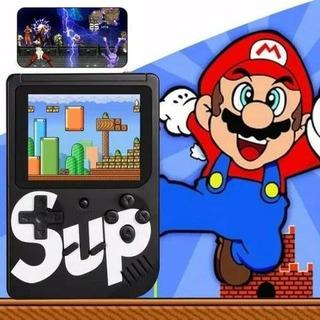 Kit 2 Vídeo Game Portátil 400 Jogos Internos Mini Game Sup