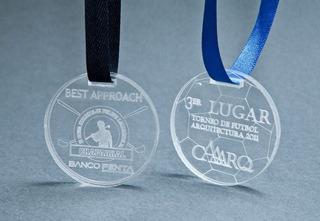 Medallas Acrilicas Personalizadas