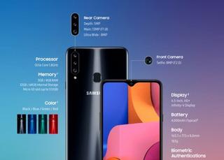 Samsung A20s 64gb+envio Gratis!!stock Inmediato