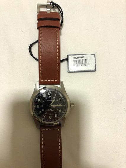 Relógio Hamilton Khaki Field H70555533 42mm Automático