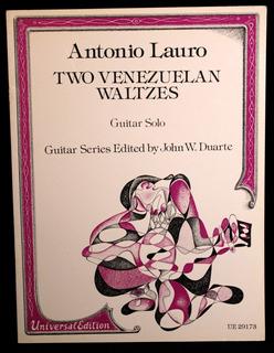Two Venezuelan Waltzes, Antonio Lauro, Guitarra Clásica