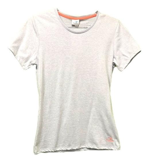 Remera Topper T-shirt Básica Mujer Lavanda Claro