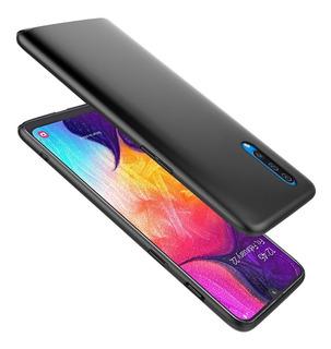 Funda Thin Fit Negra Ultra Slim Samsung A7 2018 A750 A10 A20