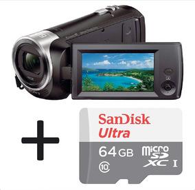 Filmadora Sony Hdr-cx405 + Cartão San Disk Ultra 64gb Com Nf
