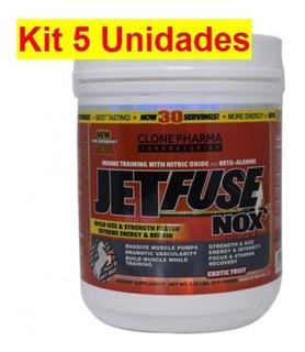 Kit 5x Jet Fuse Nox - 615g Exotic Fruit - Clone Pharma