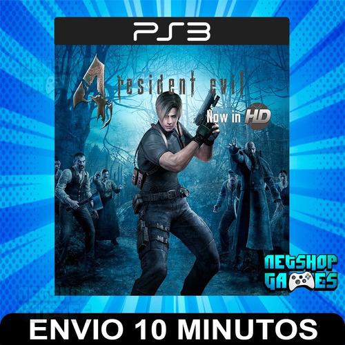 Resident Evil 4 Hd - Ps3 Digital - Español - Entrega Rápida
