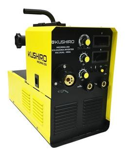 Soldadora Combinada Mig-mag Mma Inverter 250 Amp Kushiro