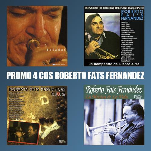 Pack 4 Cds Roberto Fats Fernandez