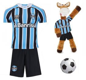 Gremio Conjunto Infantil + Cavalinho + Bola Brinde