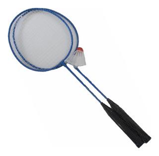 Set De 2 Raquetas Badminton Incluye 1 Gallito